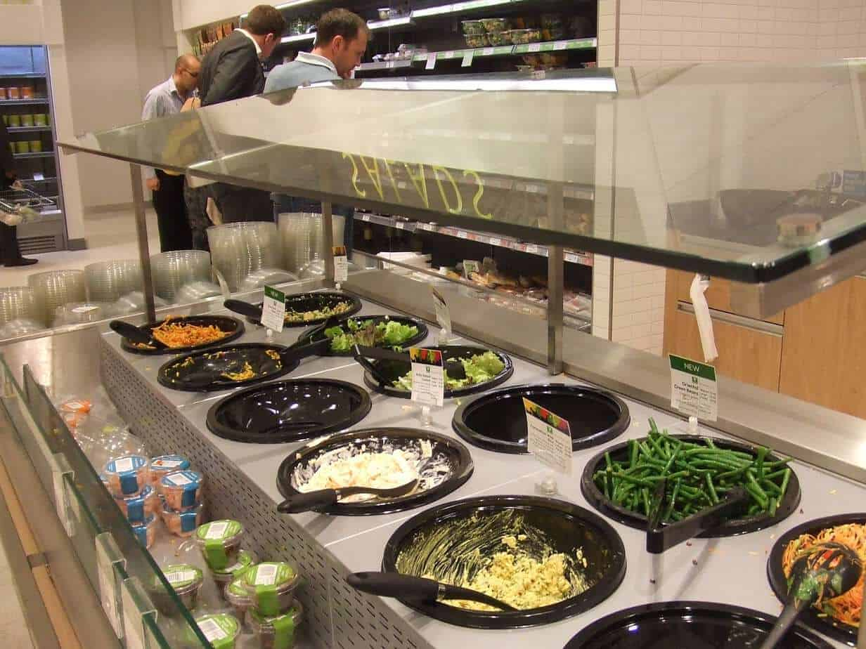 RJM Equipment Salad Bar