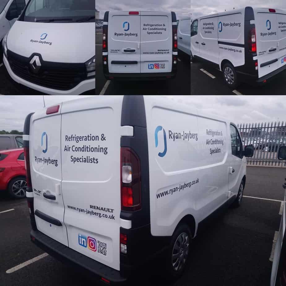 New look Ryan-Jayberg Service Vans