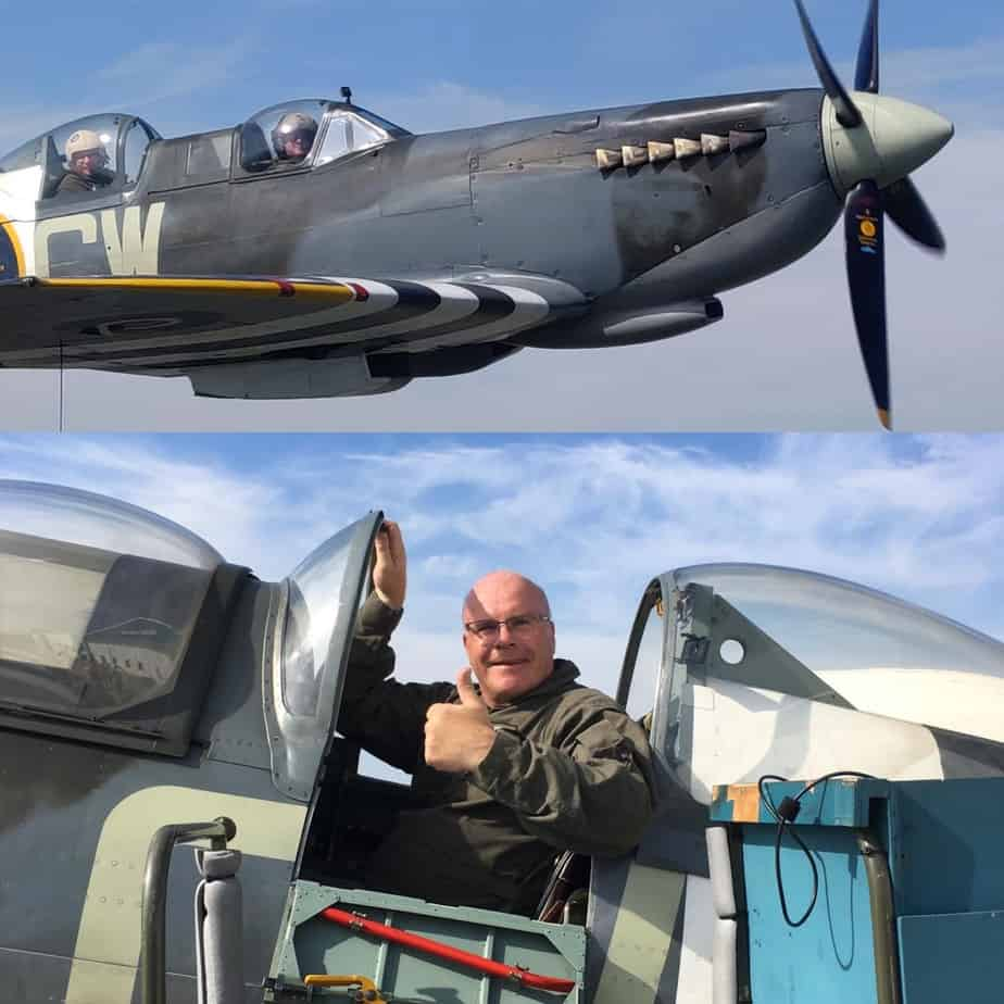Spitfire Flight For RJ Engineer's Milestone Birthday