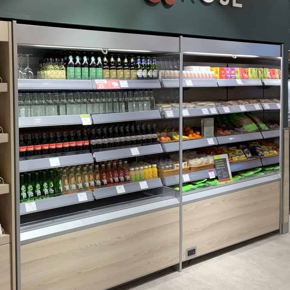 Refrigerated Café Display Cabinets