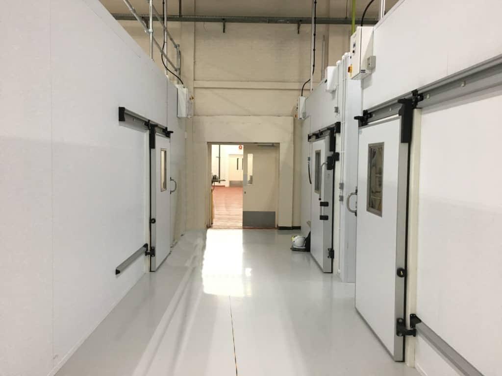 Multi Temperature Storage Rooms