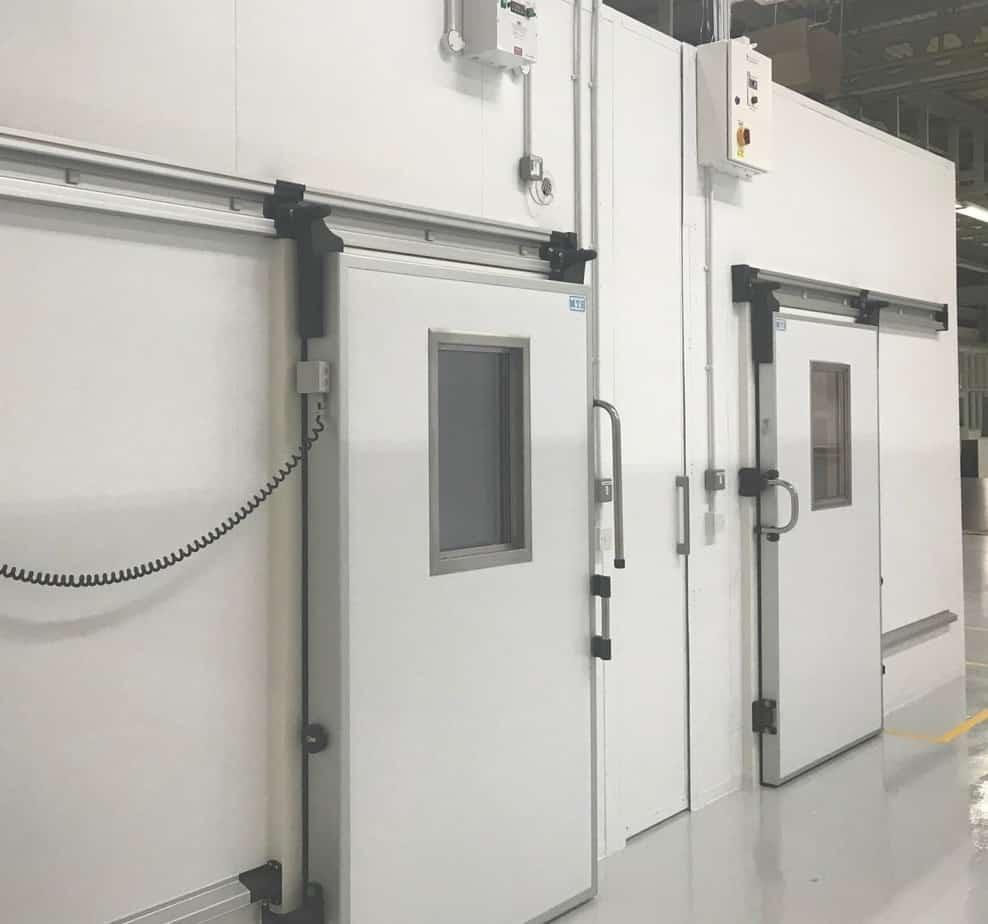 Multi Temperature Rooms