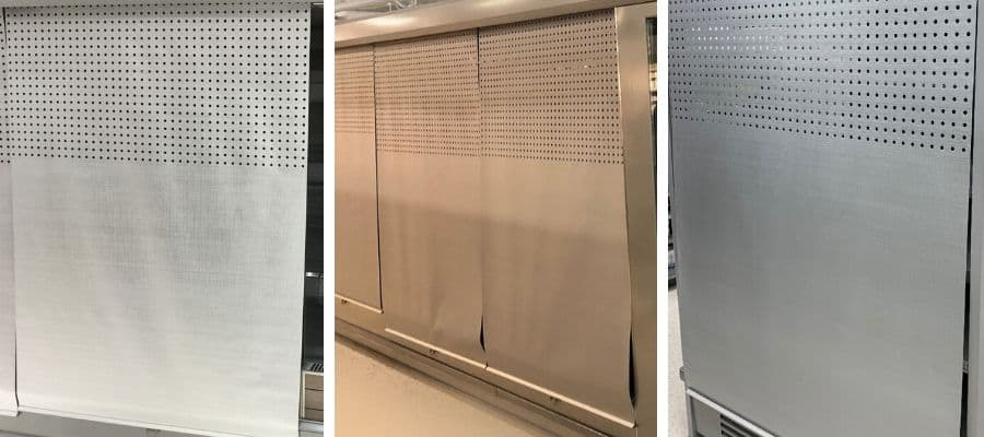 Refrigeration Night Blinds
